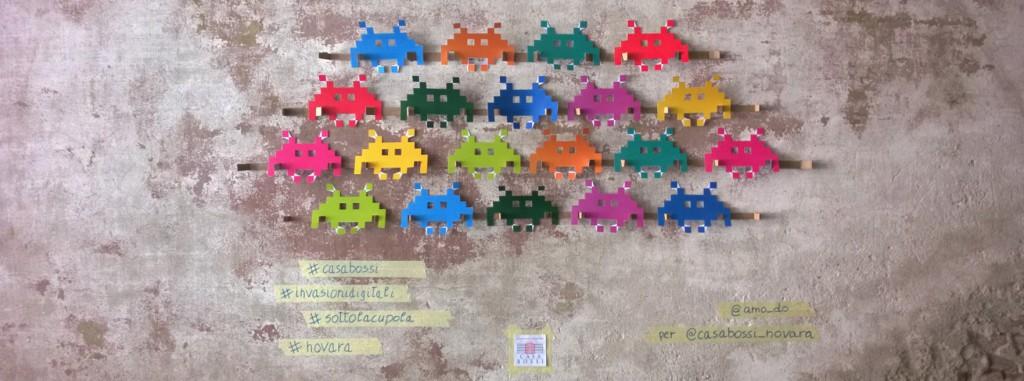 Invaders wall_invasioni digitali 2015