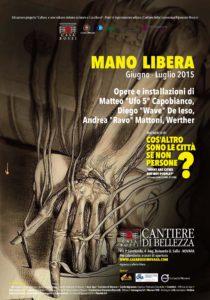 Poster MANO LIBERA